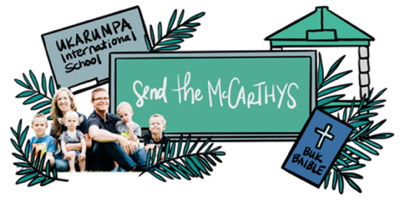 Send The McCarthy's Homepage